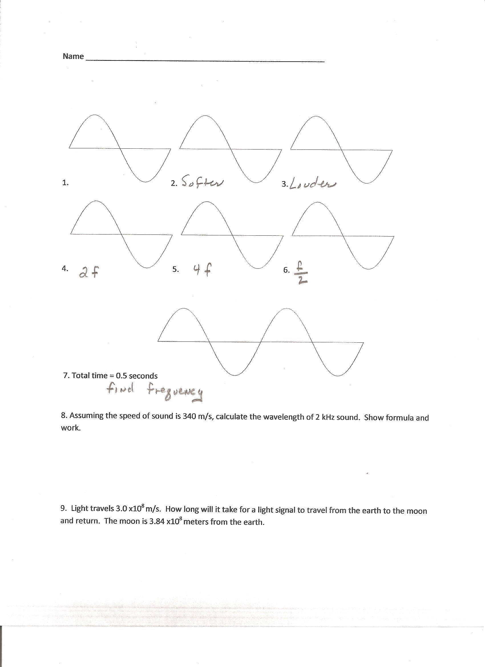 physics wave Physics 111n oscillations & waves physics 111n 36 wave speed on a tensioned string the speed of waves traveling on a string under tension is given by.